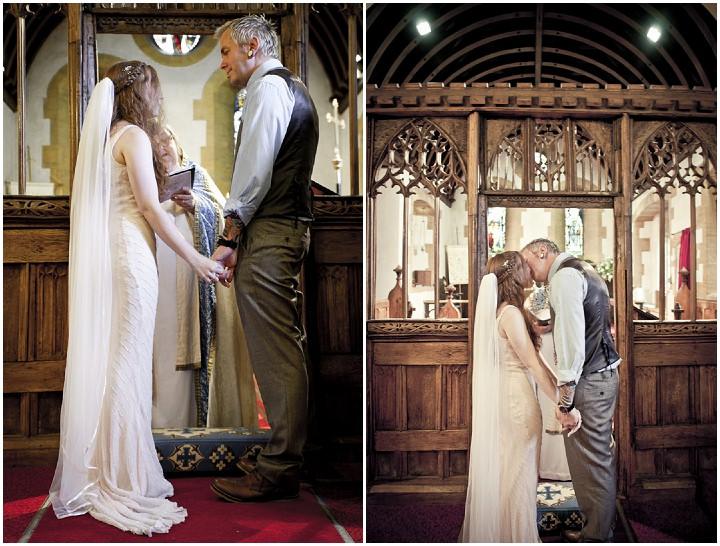 13 Rustic Vintage Wedding in  Somerset