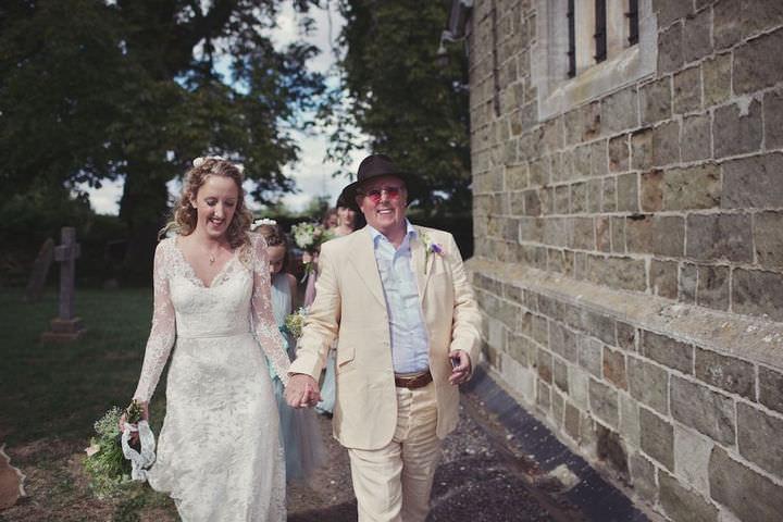14 Bare Foot Bohemian Wedding By Lisa Devlin