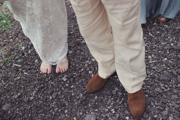 15 Bare Foot Bohemian Wedding By Lisa Devlin