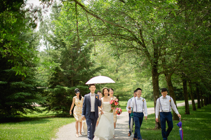 17 Canadian Wedding with a Beautiful First Look By Blue Colibri