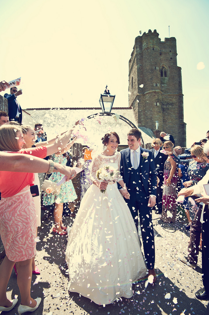 18 Sunshine Filled Devon Wedding By Michael Marker Photography