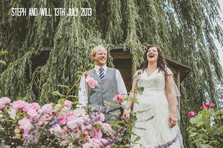 1a Relaxed Country Wedding With Florals and Lace