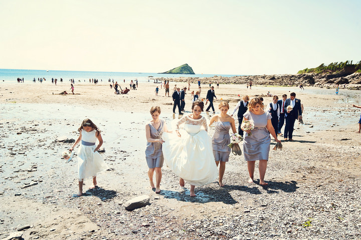 2 Sunshine Filled Devon Wedding By Michael Marker Photography