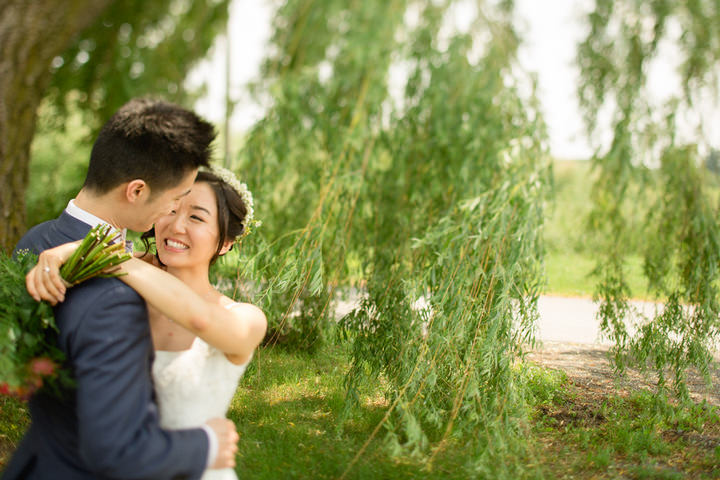 20 Canadian Wedding with a Beautiful First Look By Blue Colibri