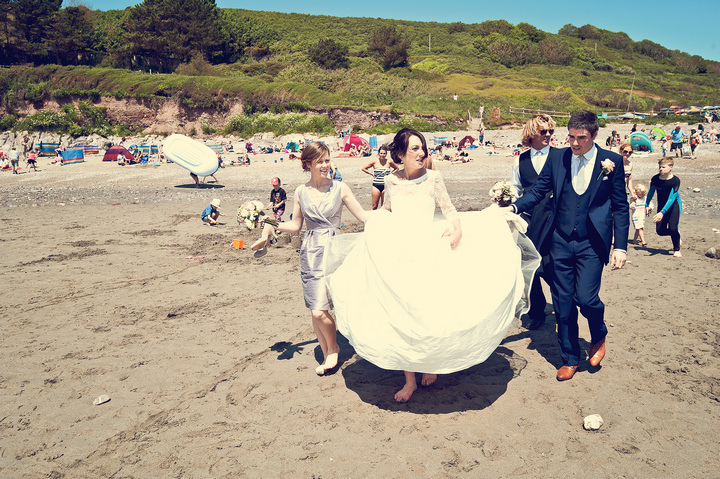 25 Sunshine Filled Devon Wedding By Michael Marker Photography