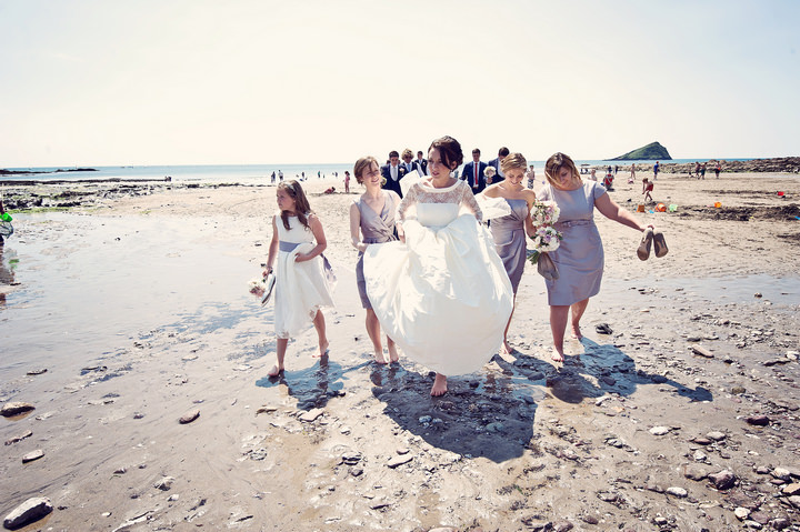 26 Sunshine Filled Devon Wedding By Michael Marker Photography