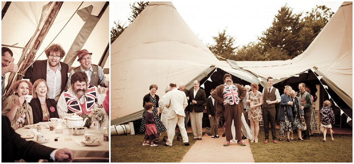 27 Rustic Vintage Wedding in  Somerset