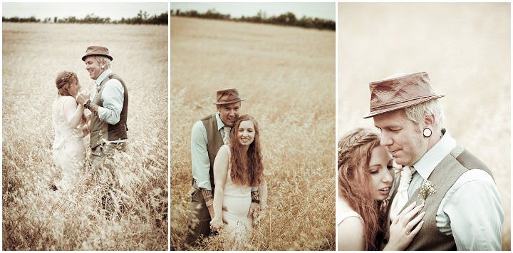 29 Rustic Vintage Wedding in  Somerset