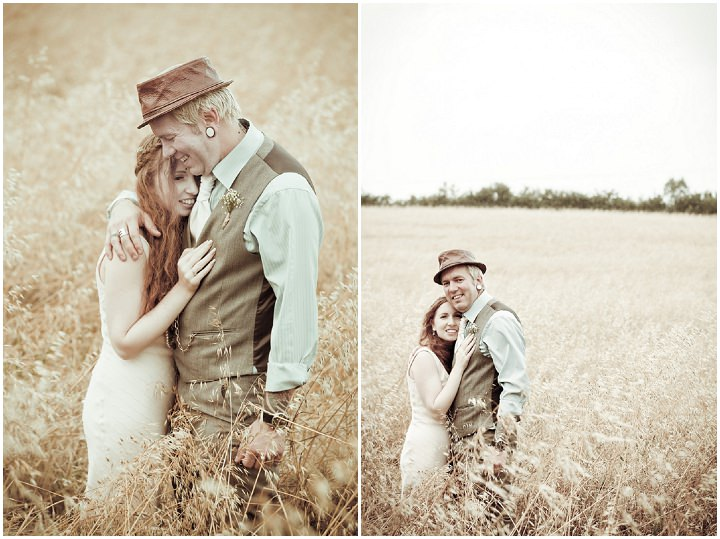 31 Rustic Vintage Wedding in  Somerset