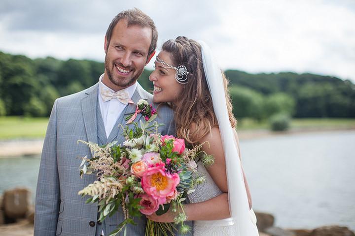 32-Peach-and-Aqua-Tipi-Wedding-By-Binky-Nixon