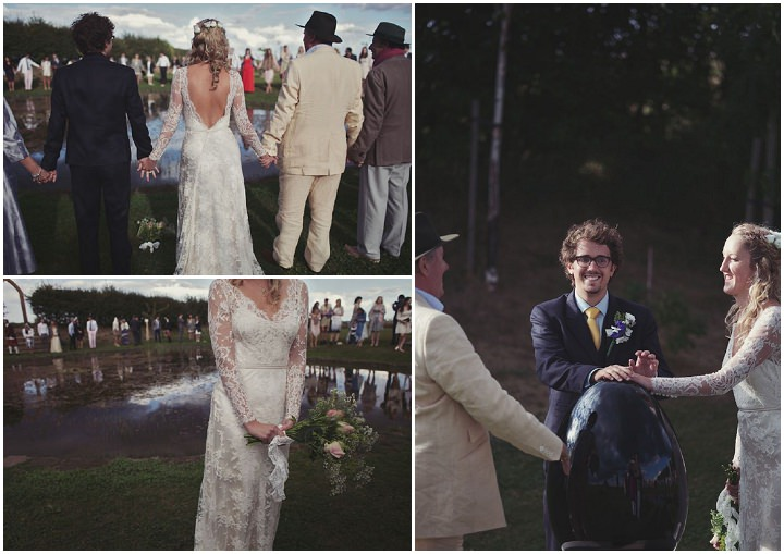 34 Bare Foot Bohemian Wedding By Lisa Devlin