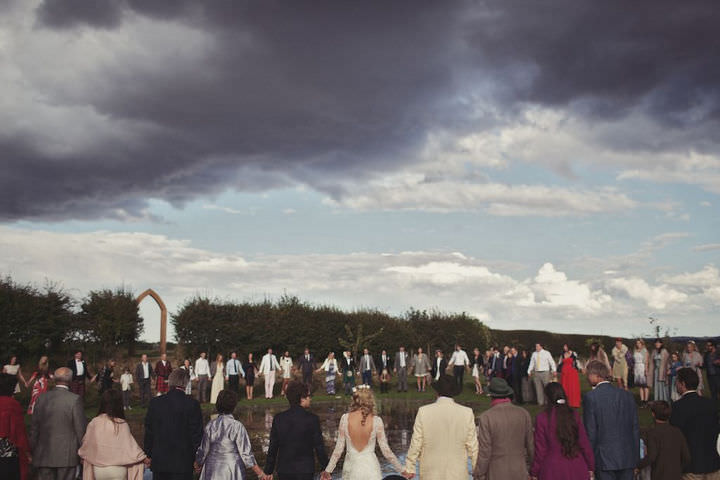 35 Bare Foot Bohemian Wedding By Lisa Devlin