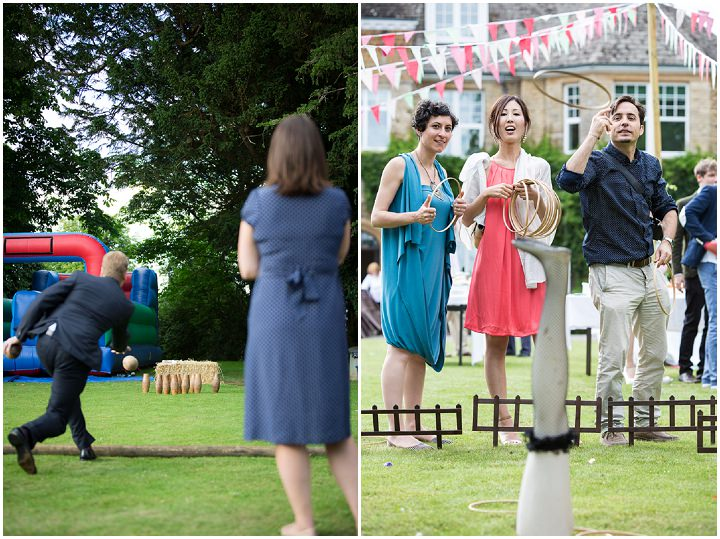 38 Summer Fete Wedding in the Cotswolds