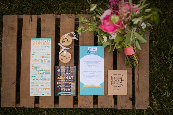 39 Peach and Aqua Tipi Wedding By Binky Nixon