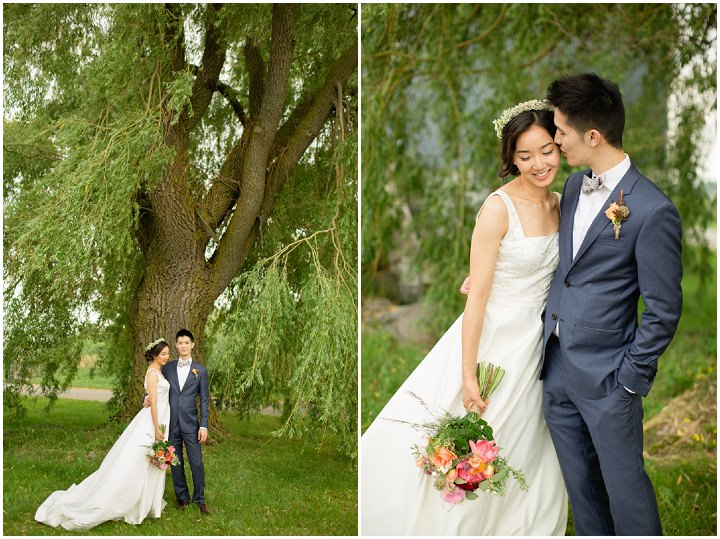 4 Canadian Wedding with a Beautiful First Look By Blue Colibri