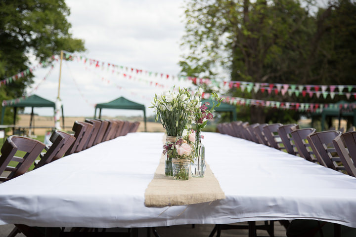 40 Summer Fete Wedding in the Cotswolds