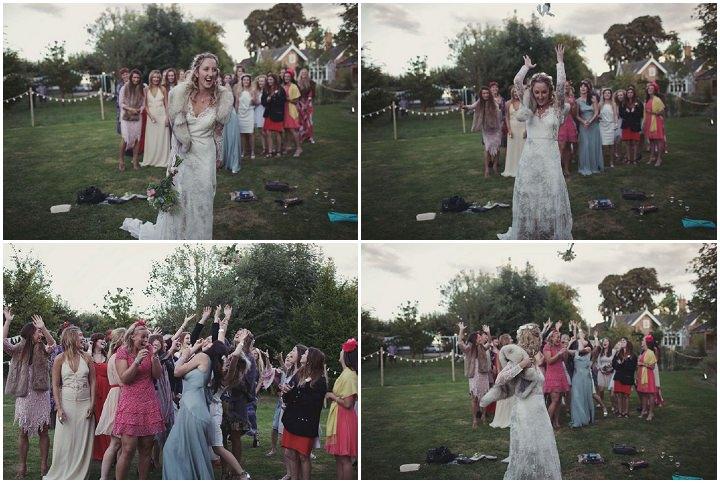 44 Bare Foot Bohemian Wedding By Lisa Devlin