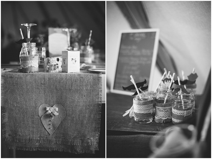 45 Peach and Aqua Tipi Wedding By Binky Nixon