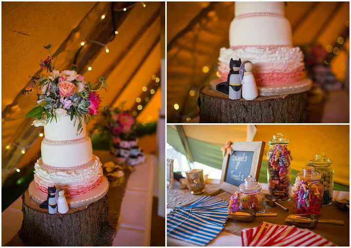 47 Peach and Aqua Tipi Wedding By Binky Nixon