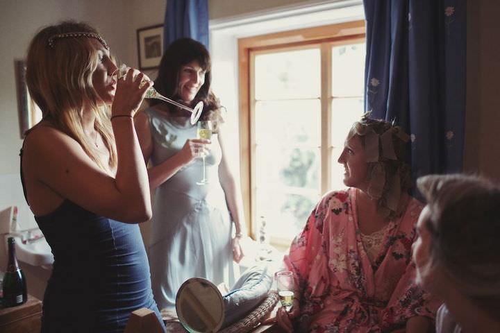 5 Bare Foot Bohemian Wedding By Lisa Devlin