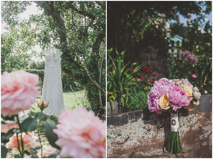 5 Relaxed Country Wedding With Florals and Lace