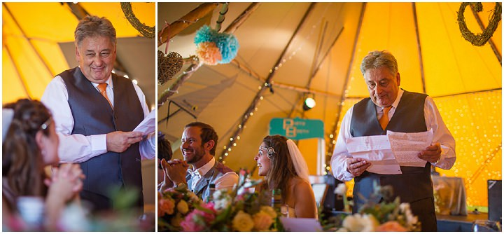 55 Peach and Aqua Tipi Wedding By Binky Nixon
