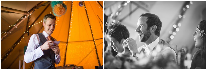 59 Peach and Aqua Tipi Wedding By Binky Nixon
