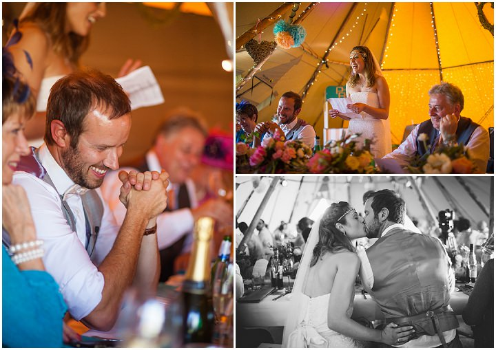 60 Peach and Aqua Tipi Wedding By Binky Nixon