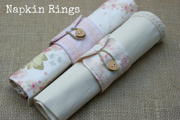 Linen Napkins And Napkin Rings