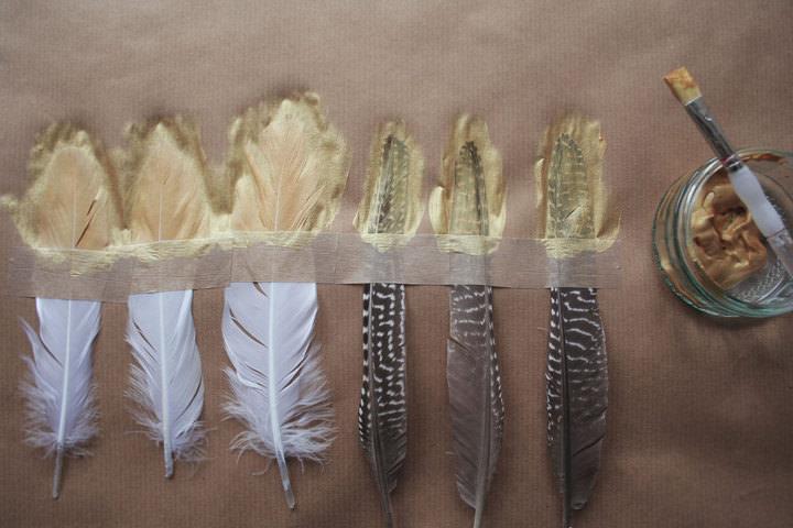 diy wedding feather - photo #14