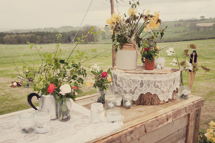 13 Yorkshire Woodland Wedding at The Bivouac by Lissa Alexandra
