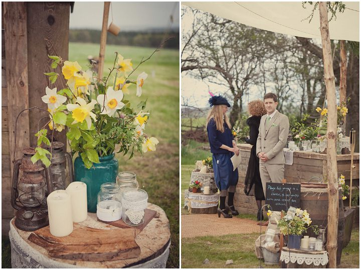 14 Yorkshire Woodland Wedding at The Bivouac by Lissa Alexandra