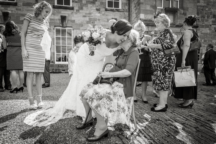 16 Yorkshire Picnic Wedding at Byland Abbey