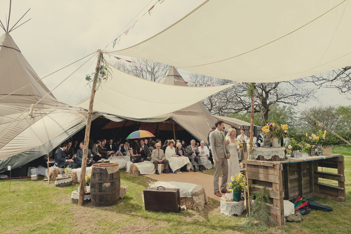 16 Yorkshire Woodland Wedding at The Bivouac by Lissa Alexandra