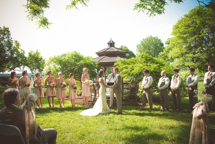 17 Outdoor Wedding in Pennsylvania By BG Productions