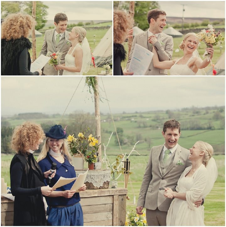 17 Yorkshire Woodland Wedding at The Bivouac by Lissa Alexandra