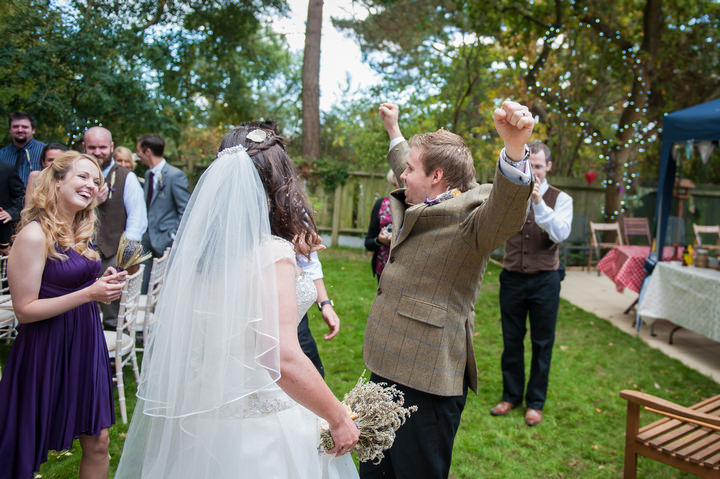 18 DIY Backyard Wedding by Mia Hooper