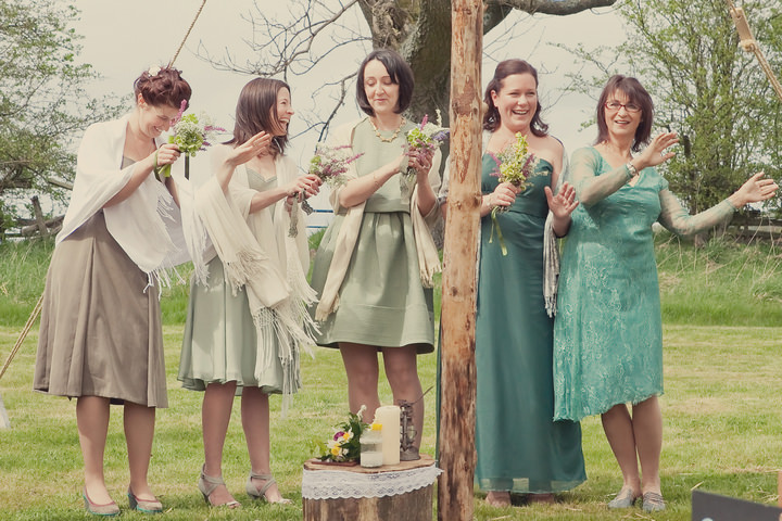 18 Yorkshire Woodland Wedding at The Bivouac by Lissa Alexandra