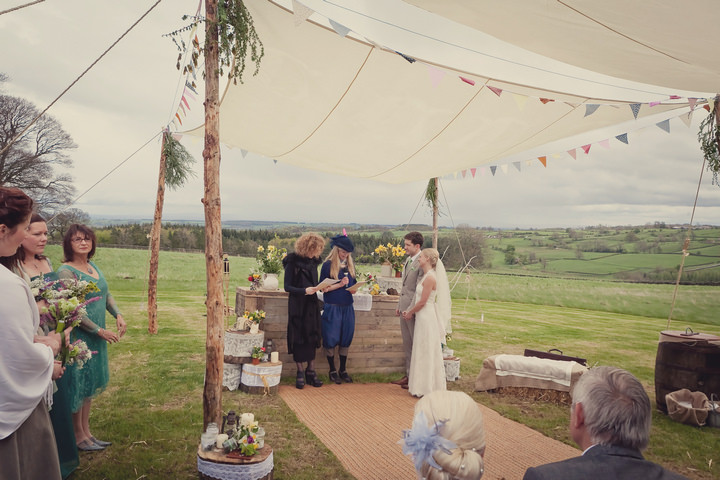 19 Yorkshire Woodland Wedding at The Bivouac by Lissa Alexandra
