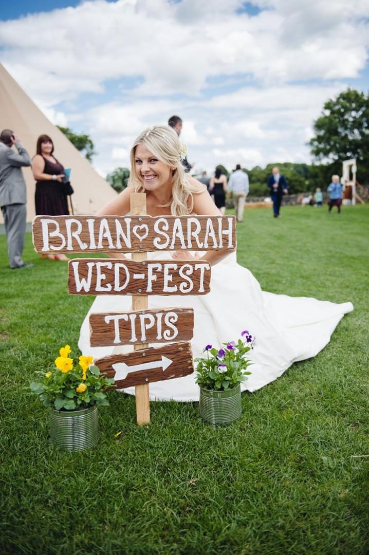 20 Homegrown Wedfest Wedding in Derby By Simon Dewey