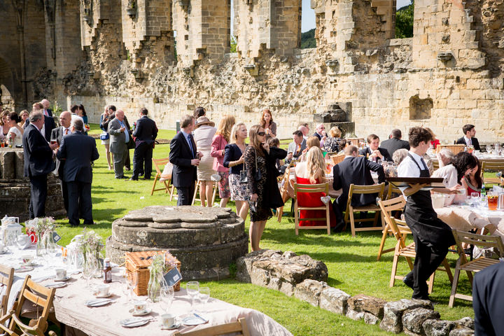 20 Yorkshire Picnic Wedding at Byland Abbey