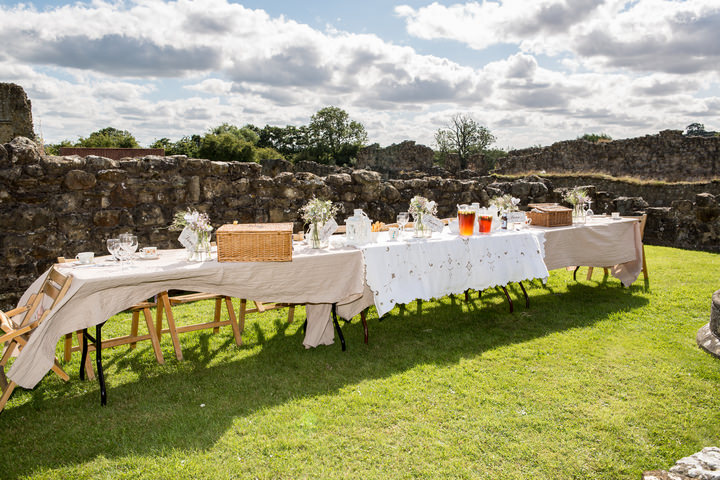 21 Yorkshire Picnic Wedding at Byland Abbey
