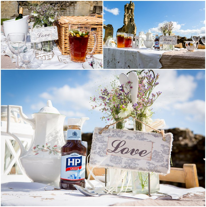 24 Yorkshire Picnic Wedding at Byland Abbey