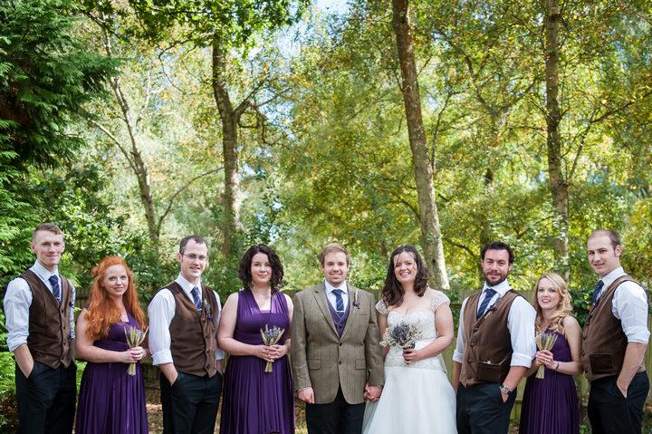 25 DIY Backyard Wedding by Mia Hooper