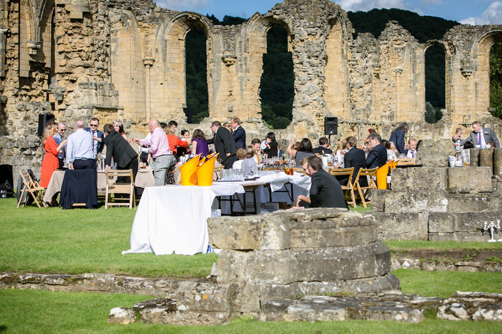 28 Yorkshire Picnic Wedding at Byland Abbey
