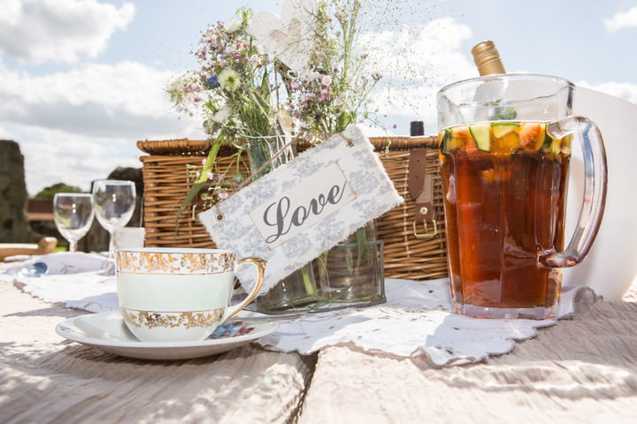 3 Yorkshire Picnic Wedding at Byland Abbey