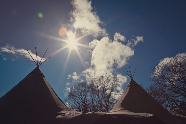 3 Yorkshire Woodland Wedding at The Bivouac by Lissa Alexandra