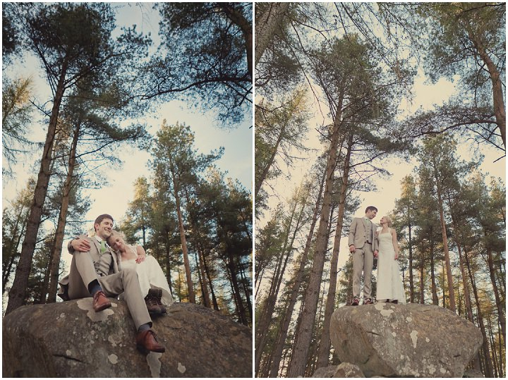 44 Yorkshire Woodland Wedding at The Bivouac by Lissa Alexandra