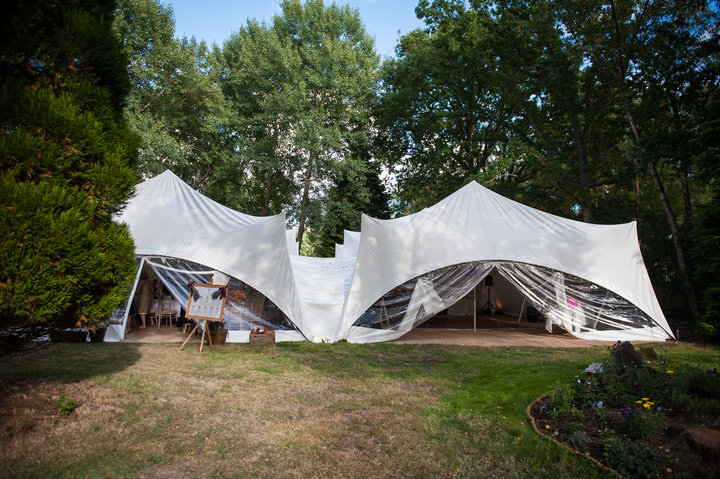 7 DIY Backyard Wedding by Mia Hooper