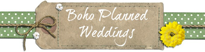 boho planned weddings